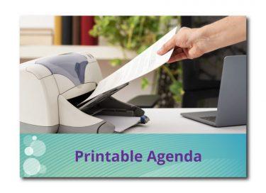PrintableAgenda